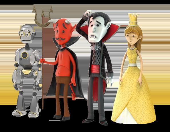 Diable, Dracula et Princesse