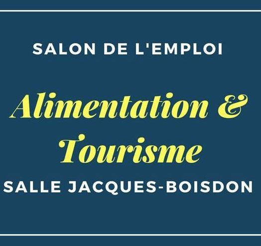 Salon de l 39 emploi alimentation tourisme ma vie mon for Salon de l emploi 2017